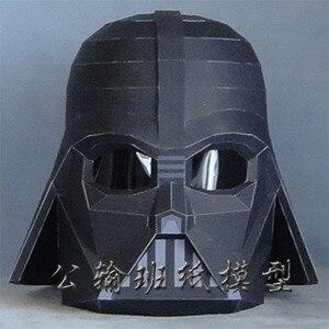 Star Wars Darth Vader Helmet Wearable Cosplay Darth Vinda Handmade Papermold Props