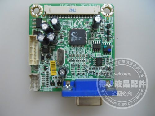 цена на Free Shipping>Original  AL1916W driver board ILIF-037 490781300200R motherboard package good measure-Original 100% Tested Workin