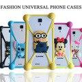 Caso bolsa de la cubierta del teléfono universal para iphone 6 6 s 7 plus para xiaomi redmi note 2 3 4 pro caso