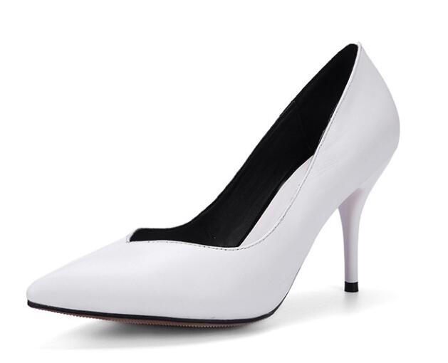 Popular All White Heels-Buy Cheap All White Heels lots from China ...