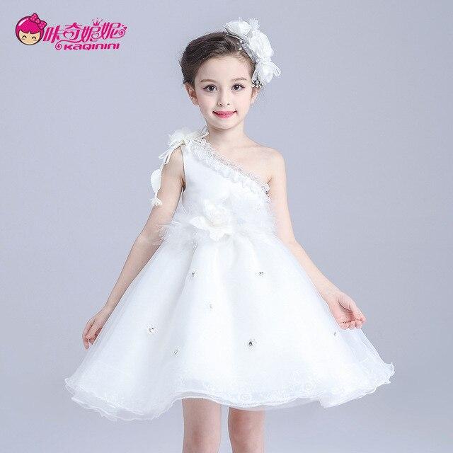 c96895b561210 De Luxe De Noël Des Enfants Robes Pour Les Filles De Noce Bébé Fille