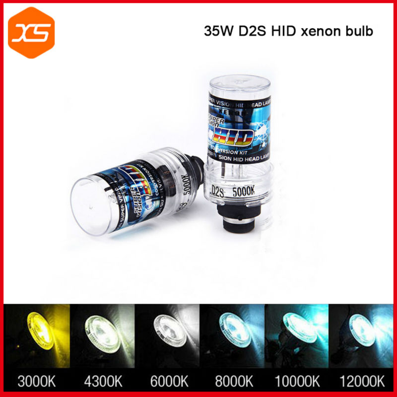 2 PCS 12V 35W D2S Xenon Bulb 4300 6000 8000 10000K Xenon D2S D2C HID Xenon Replacement Bulb for Car Headlight D2S 4300K 2 w p w v p10000 10000 waka ddc12