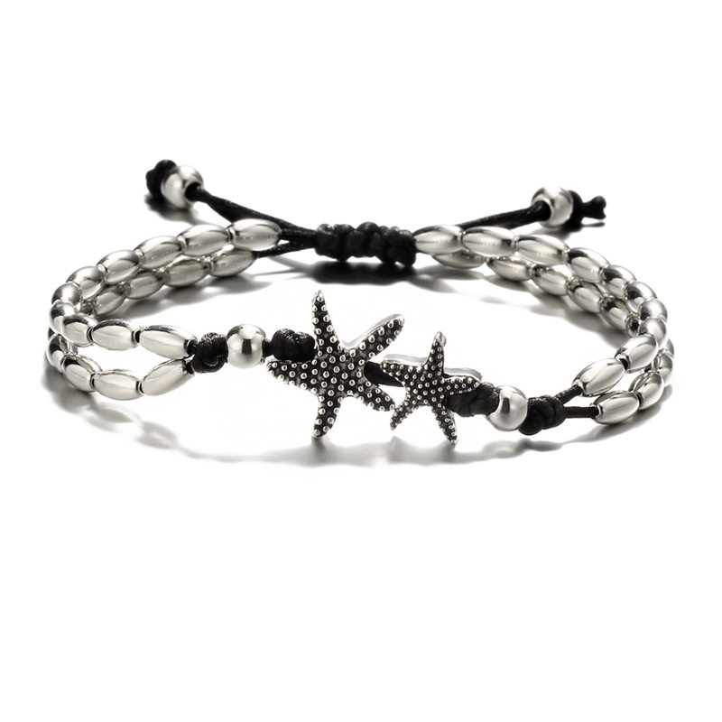 Fashion Anklet Vintage Bead Starfish Ankle Bracelet for Women Beach Accessories Foot Anklet Jewelry Gift