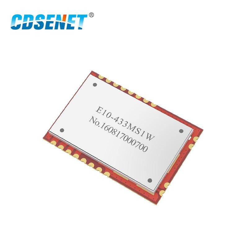 SI4463 PA LNA 433MHz Long Range E10-433MS1W SPI Rf Module CDSENET 433 MHz 1W Wireless Transceiver Module TCXO Stamp Hole
