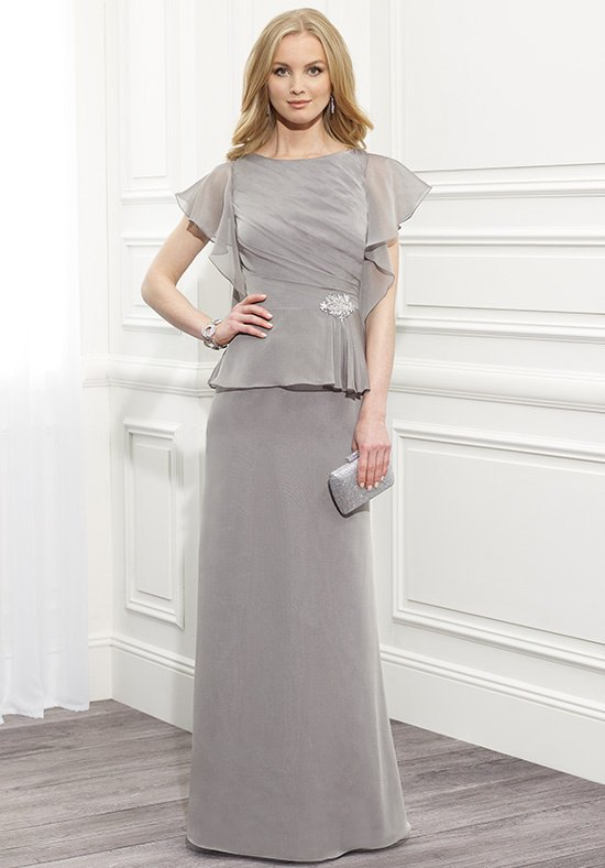 2017 Wedding Gowns Mother of the Bride A line Jewel Capped Sleeve ...