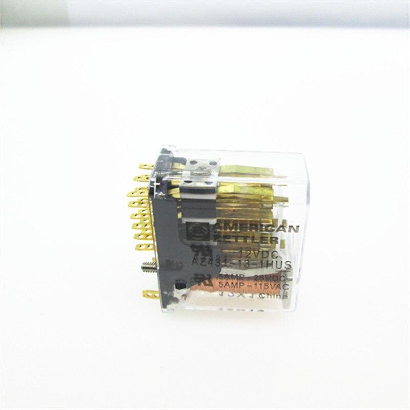prower 12V relay AZ431-13-1HUS 12VDC AZ431-13-1HUS-12VDC AZ431131HUS 12VDC DC12V 12V 5A 115VAC 20PINprower 12V relay AZ431-13-1HUS 12VDC AZ431-13-1HUS-12VDC AZ431131HUS 12VDC DC12V 12V 5A 115VAC 20PIN