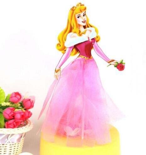 Aurora Princess Theme Party Supplies Cupcake Toppers Pick Kid