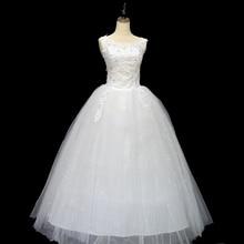 Koreanska Snörningsklänning Kvalitets Bröllopsklänningar 2018 Alibaba Skräddarsydda Plus Storlek Brudklänning Verkligt Foto