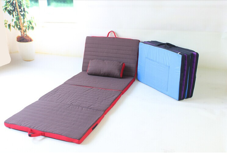 Dampproof Cushion / Folding bed for Bedroom living room modern furniture office siesta camping Students sleep Yoga Mat 2016 hot sale factory price hotel extra folding bed 12cm sponge rollaway beds for guest room roll away folding extra bed