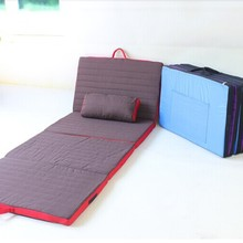 Dampproof Cushion Folding Bed For Bedroom Living Room Modern Furniture Office Siesta Camping Students Sleep