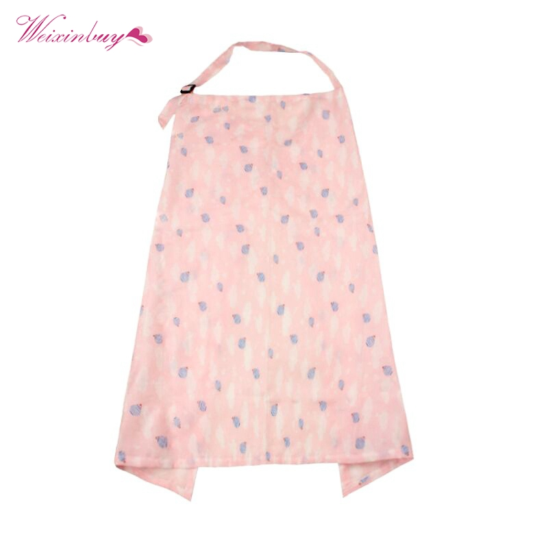 Mom Breastfeeding Nursing Cover Up Baby/Infant Poncho Shawl Udder Breast Towel Feeding Cotton Blanket