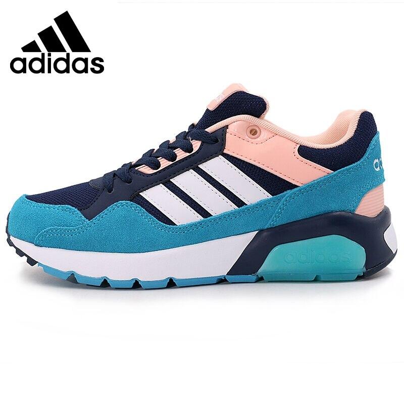 Prix pour Original Nouvelle Arrivée 2017 Adidas NEO Étiquette RUN9TIS W Femmes de Planche À Roulettes Chaussures Sneakers