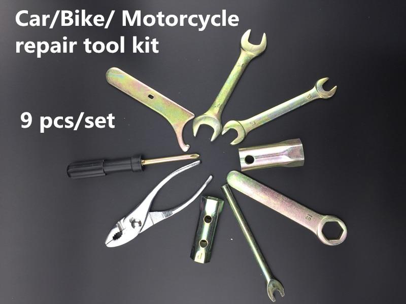 YOFE 9 SZT. Zestaw narzędzi ręcznych do naprawy samochodu Zestaw - Zestawy narzędzi - Zdjęcie 5