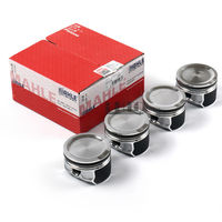 Engine Pistons / Pins STD 81mm 4pcs For VW Passat Jetta Beetle Golf GTI 4 MKIV MK4 Audi A4 Quattro 1.8T 1.8L Turbo DOHC 20V