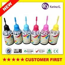 6X50 ml para T2421-2426 24XL de Recarga de tinta Corante para Epson T2431-T2436 XP-55 XP-860 XP-760 XP-750 XP-850 XP-950 jato de tinta impressora