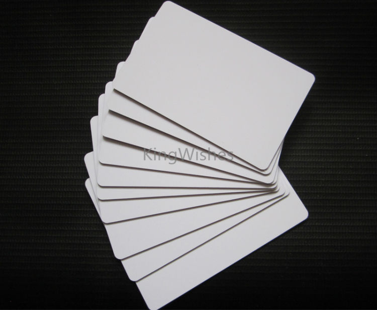 Discount!!! 10PCS Plastic Double Side Printable White PVC ID Card No Chip For Epson TX720WD PX700W PX800FW PX665 PX660 Tray syma main blades