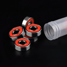 4Pcs ABEC 9 608RS Skate Scooter Skateboard Wielen Spare Lagers Bal Roller Hoogste Precisie Assen Lager staal(China)
