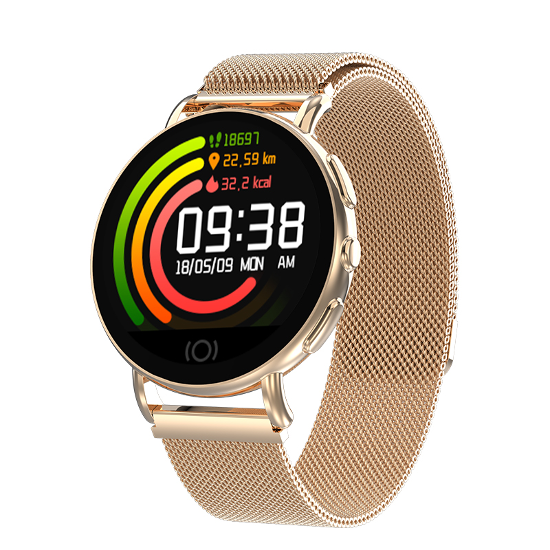 HATOSTEPED New Smart Watch Men Women Heart Rate Monitor Blood Pressure Fitness T
