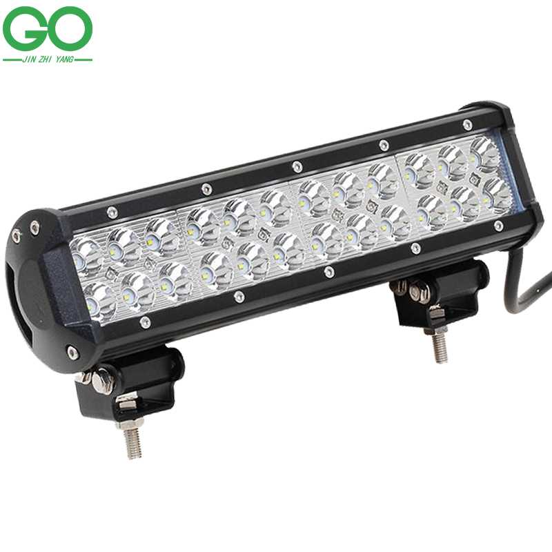 72W Cree LED Work Light Bar for Indicators Offroad Boat Car Tractor Truck Spot Flood Combo Beam 12V 24V Auto Inspection Lamps кольца page 9