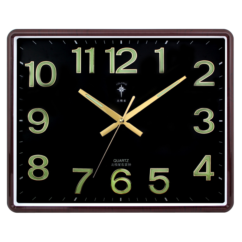 Polaris 16 inches square luminous living room mute fashion quartz watch  pocket watch Ikea office wall  clock symbol Picture   More Detailed Picture about Polaris 16  . Living Room Clocks Ikea. Home Design Ideas