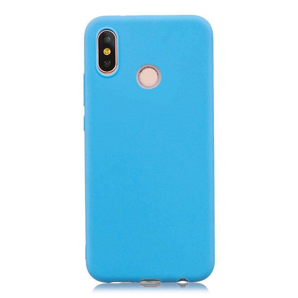 Candy Macaron Color Case For Xiaomi Redmi S2 6A 6 Pro 13