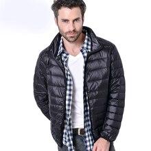 2018 Winter Ultralight White Duck Down Jacket for Men