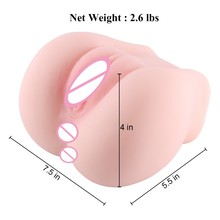 New Arrival Realistic Sexy Mini Pussy Lifelike Real Vagina Tight Vagina Anal Adult Product Male Masturbator Sex Toys For Men