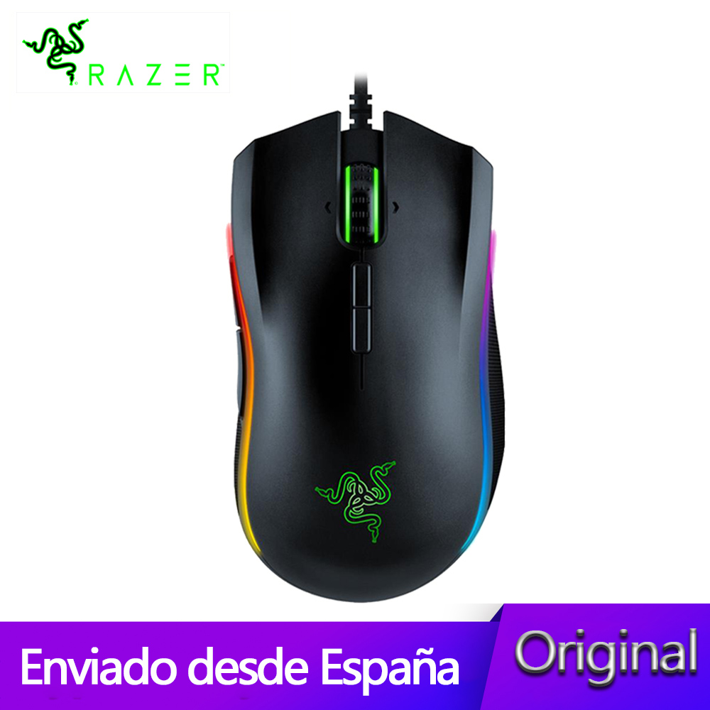 Elite Chroma Multi Color Ergonomic Gaming Mouse Advanced Optical Sensor Scrolls