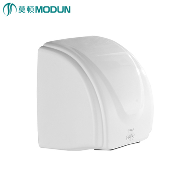 Home appliance hotel commercial bathroom white infrared sensor high speed dry hands quickly  touchless automatic hand dryer