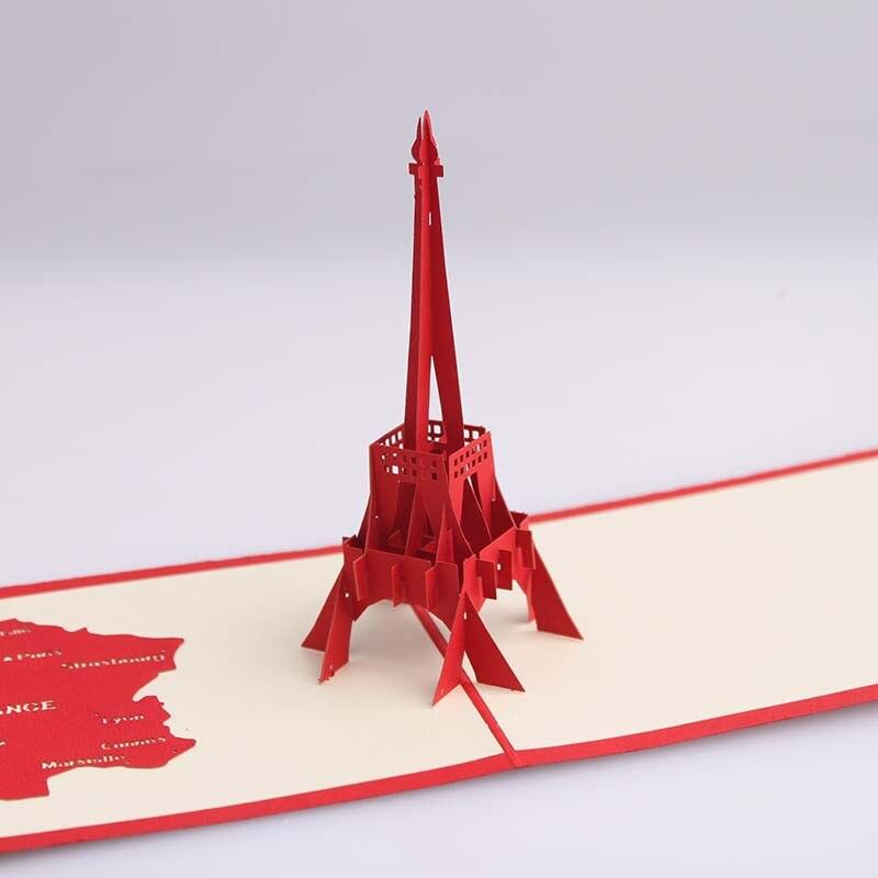 Крутящаяся открытка-киригами