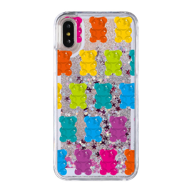 Online Shop Gummy Bear Jelly Ice Cream Swan Glitter Liquid Hard ... 64998be64495