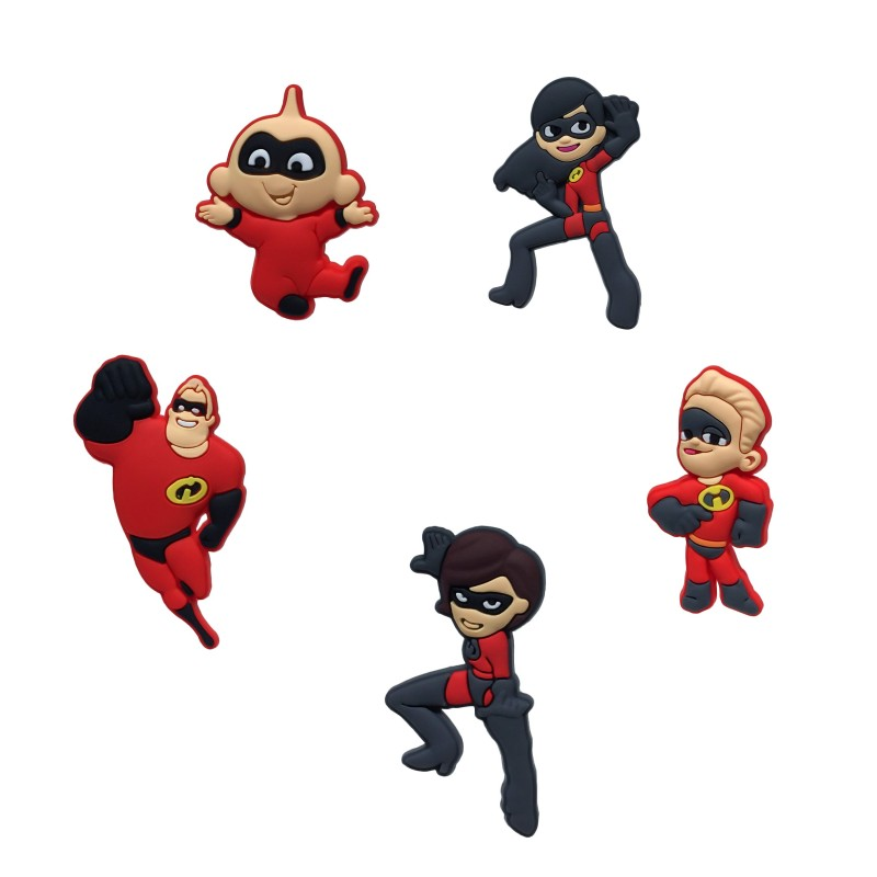 1pcs Incredibles Cartoon Pvc Blackboard Magnets Office School Magnetic Stickers Fridge Magnets For Kids Xmas Party Gift