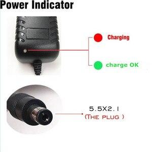 Image 2 - 8.4V 3A 5.5x2.1mm AC DC Power Supply Adattatore di Caricabatteria Per 7.2V 7.4V 8.4V 18650 agli ioni di litio Li po Batteria di Trasporto libero