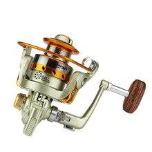 Yumoshi  Mini MN150 Fishing Reel 10BB 5.2:1 Cute Metal Line Winder Folding Spinning Reels Tool