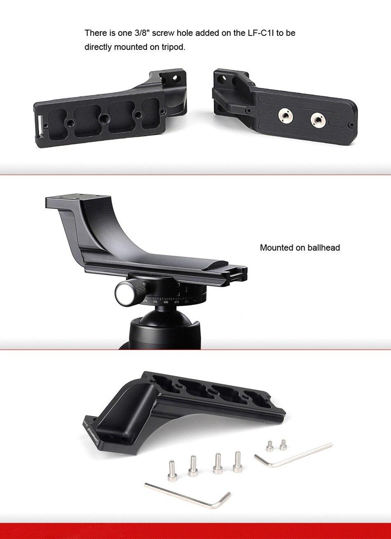 SUNWAYFOTO LF-C1I штатив с быстросъемной пластиной для телеобъектива поддержка объектива Замена штатива для ног подставка для телеобъектива
