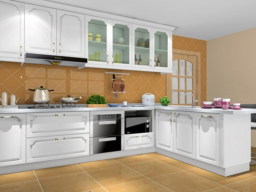 Kitchen Model compare prices on white cabinets kitchen design- online shopping