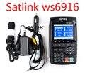 Satfinder Satlink dvb s2 WS-6916 DVB-S2 Localizador Via Satélite medidor de Satélite MPEG-2/MPEG-4 Satlink WS 6916
