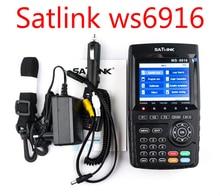 Satfinder dvb-s2 Satlink WS-6916 DVB-S2 Satellite Finder Спутниковое метр MPEG-2/MPEG-4 Satlink WS 6916