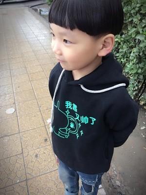 Noctilucent luminous light 3d print kids boy girl hooded hoodie hip hop spiderman bat man super bear bunny basketball Children (9)