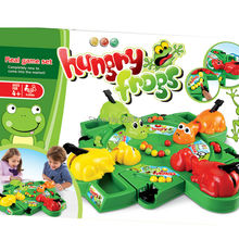 Plastic Multiplayer big Feeding Frog 3D Board Game Fun Funny Gadgets Parent Child Interaction Hungry Froggies Educatinal Toys
