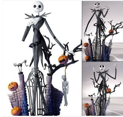 The Nightmare Before Christma Figurine Jack Skellington 20cm the spook s nightmare