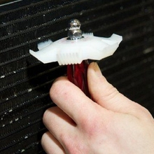 Автомобильный Автомобильный охлаждающий конденсаторный радиатор ребро испарителя выпрямитель гребень грабли очиститель инструмент белый