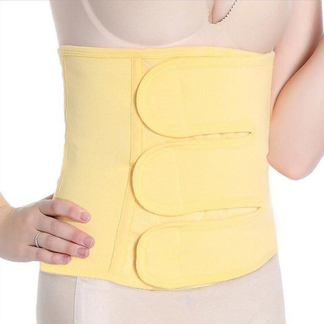 Nuevo de Las Mujeres de Algodón Puro cinturón Entrenador Cintura Femenina Posparto Fortalecer El Estómago Corsé cuerpo que adelgaza la correa de Sudor absorbente