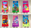 Cartoon paw dogs patrol kitty my little horse pony spiderman Towels baby kids children cotton beach bath towel 150*72cm GYH