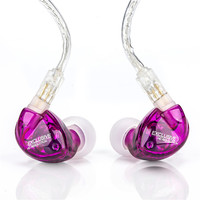 Newest TFZ EXCLUSIVE 1 Hifi Monitor Ear Hook Earphones High Quality Stereo Headphones Transparent Noise Canceling