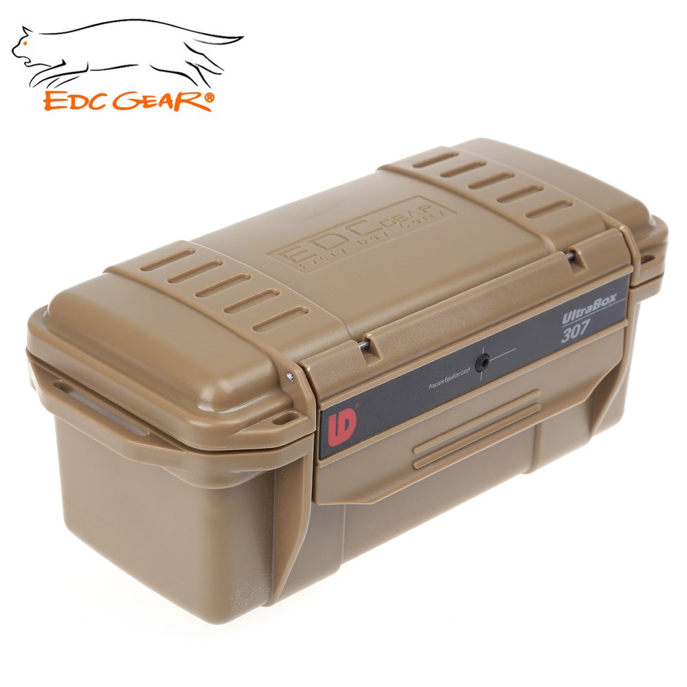 Online Edc Gear Outdoor Survival Case Waterproof Shockproof Storage Box Abs Plastic Material Small Size Camping Tools 20 10 8 Cm Aliexpress