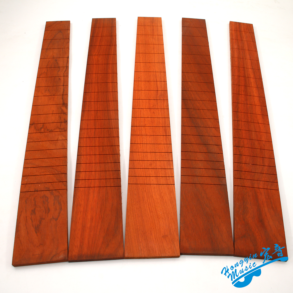 African Padauk Wood For Classical Guitar Standard 650mm Chord Length Semi-finished Fingerboard Pterocarpus Soyauxii Guitar Parts savarez 500arh classical corum standard tension set 024 042 classical guitar string