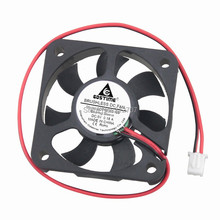 Free shipping 1PCS 5cm 7 Blades DC Power Cooling Fan Motor 5V 2P 5010 50x50x10mm