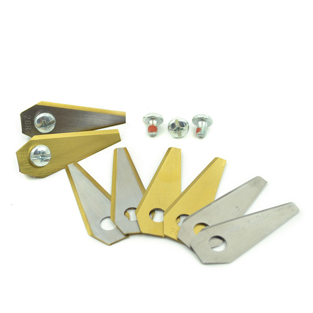 9PCS Auto Mower Blades For Bosch Indego Robot Lawn Mower Blade L49*W19*T1.0MM Robotic Lawn Mower Parts Replacement Accessories