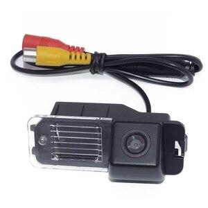 Image 2 - HD araba ters kamera Volkswagen Magaton Golf Passat CC Polo gece görüş otomatik dikiz kamera araç kamerası